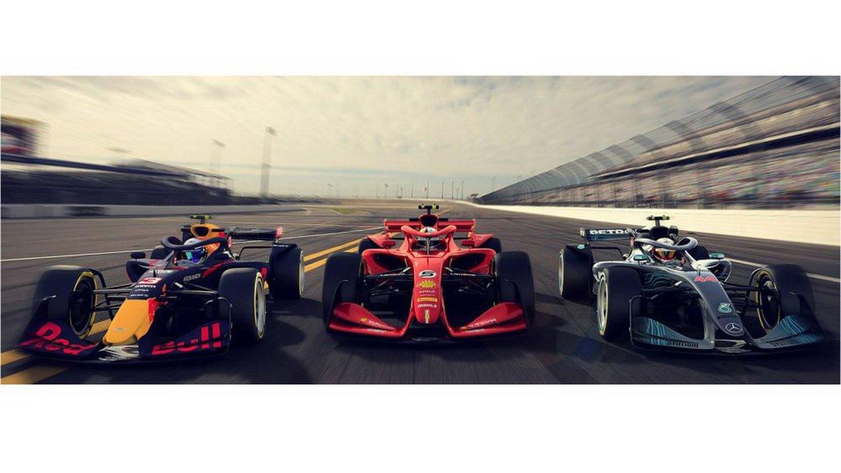 Formula 1 concept 2021