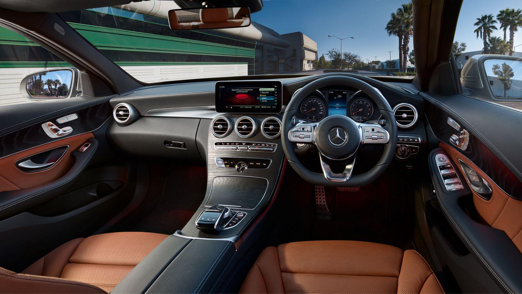 Mercedes Benz C-Class cabin india