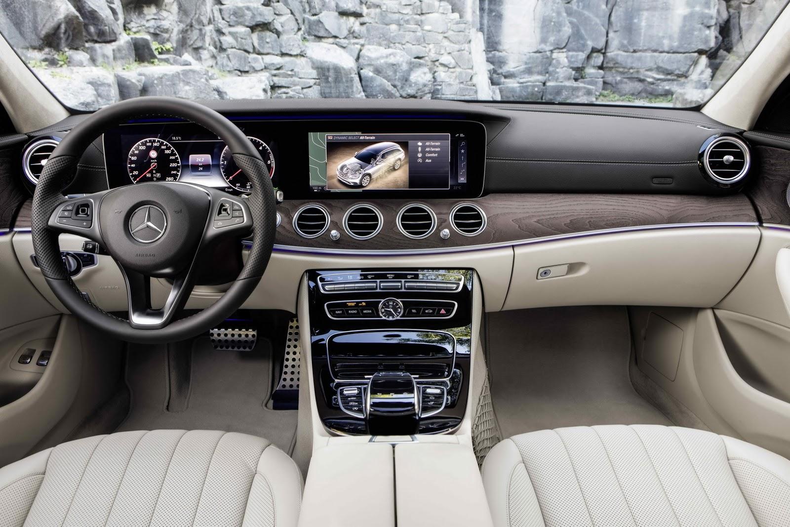 Mercedes E-Class All-terrain India interior