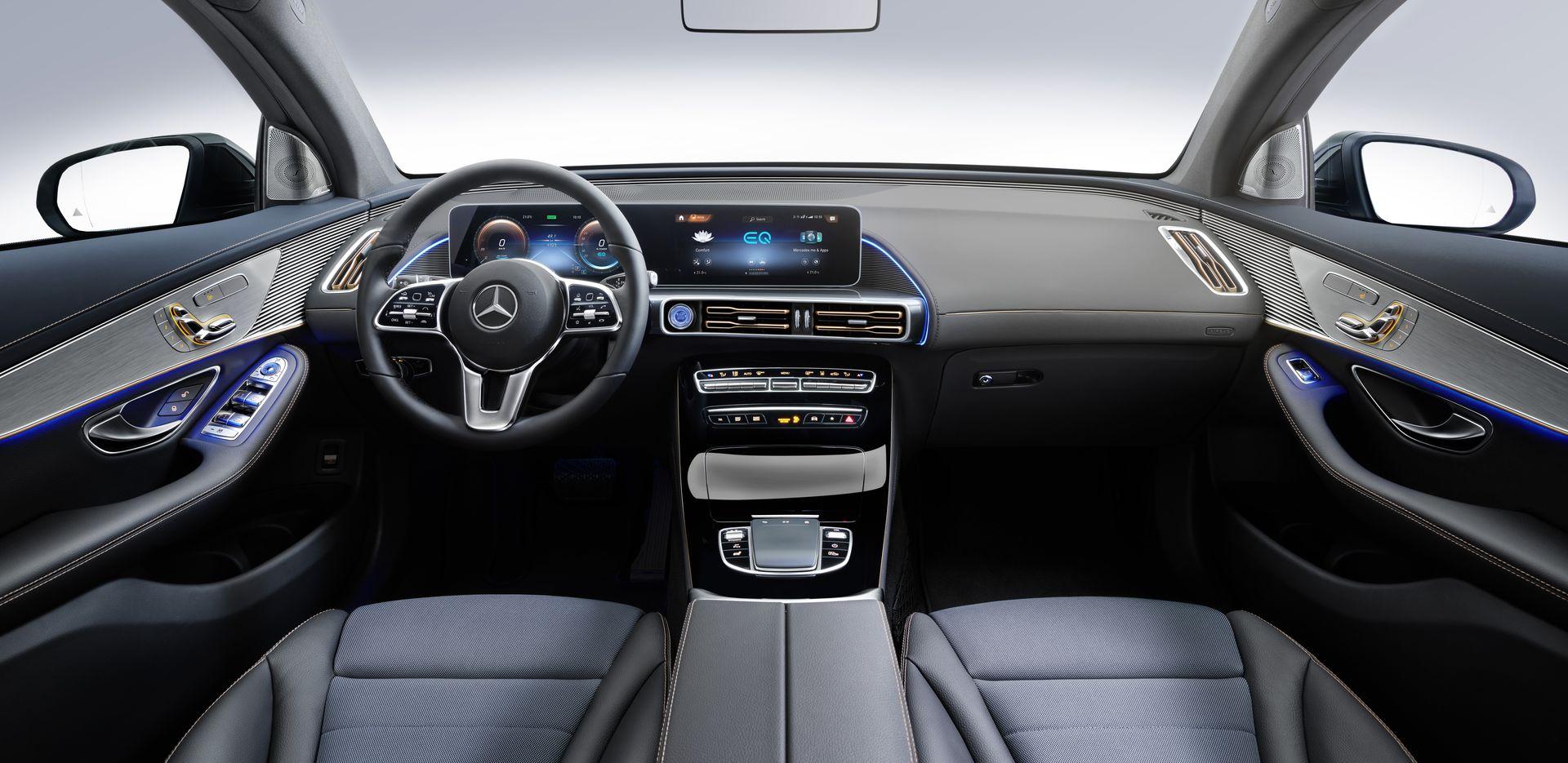 Mercedes-Benz EQC cabin