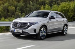 Mercedes EQC launch