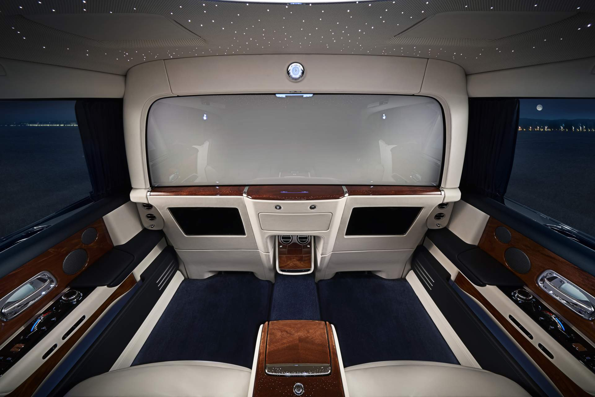 Rolls-Royce privacy suite interior