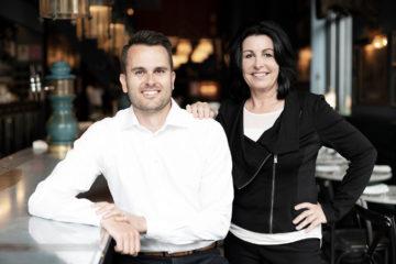 David Blake and Kelly Palmer