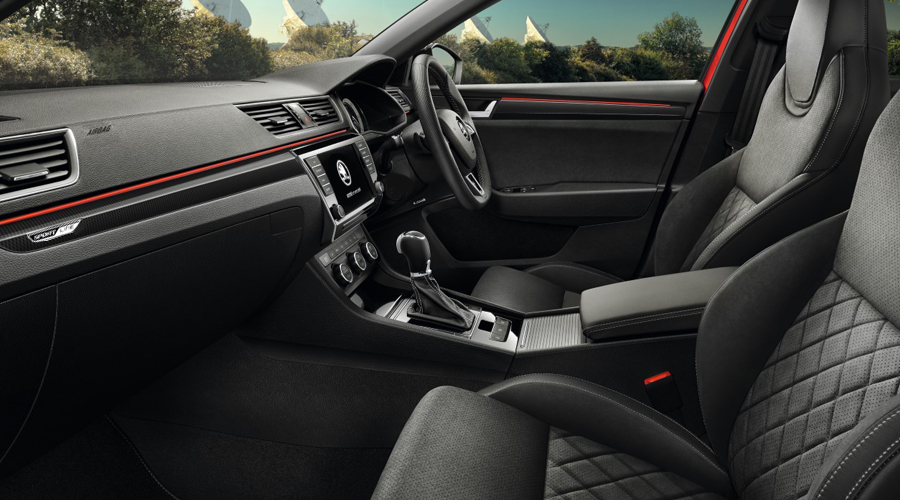 Superb sportline interior