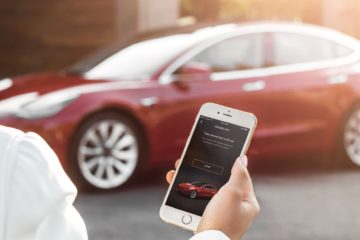 Tesla Mobile app car steal