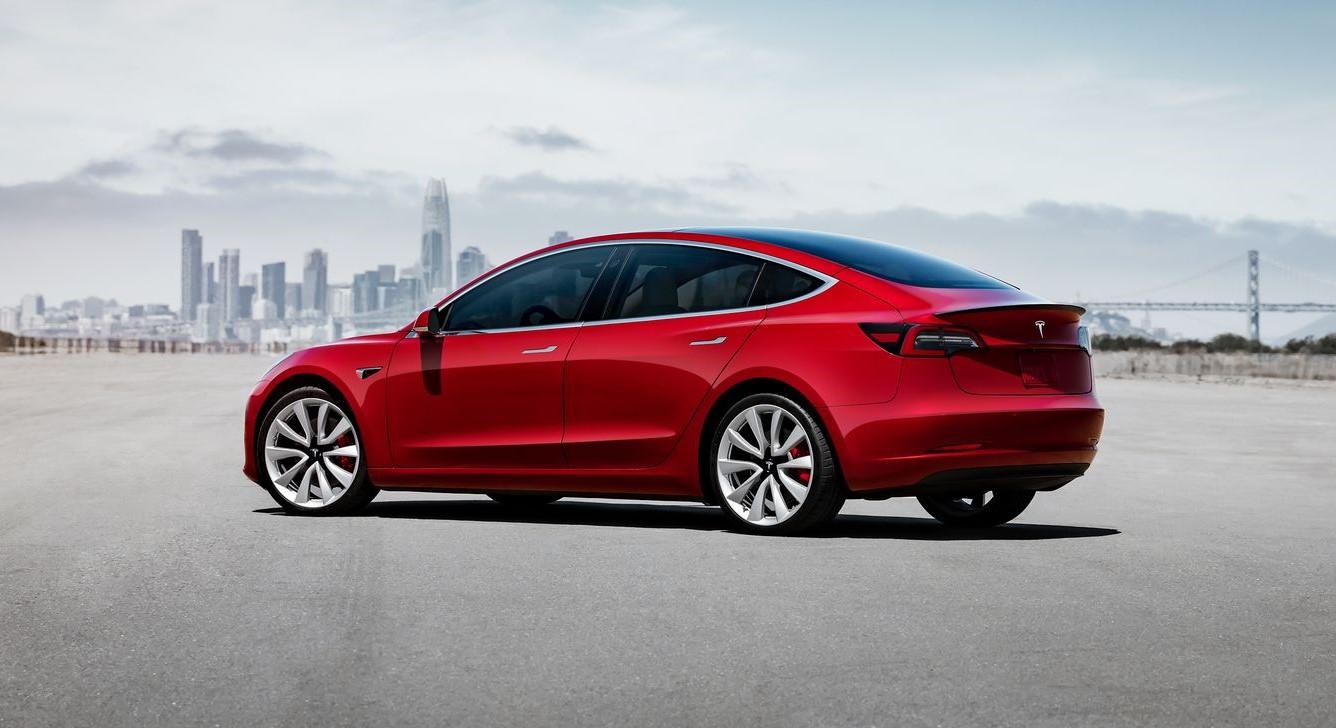 Tesla Model 3 outsold BMW
