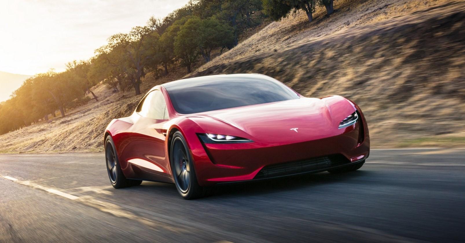 Tesla Roadster Koenigsegg