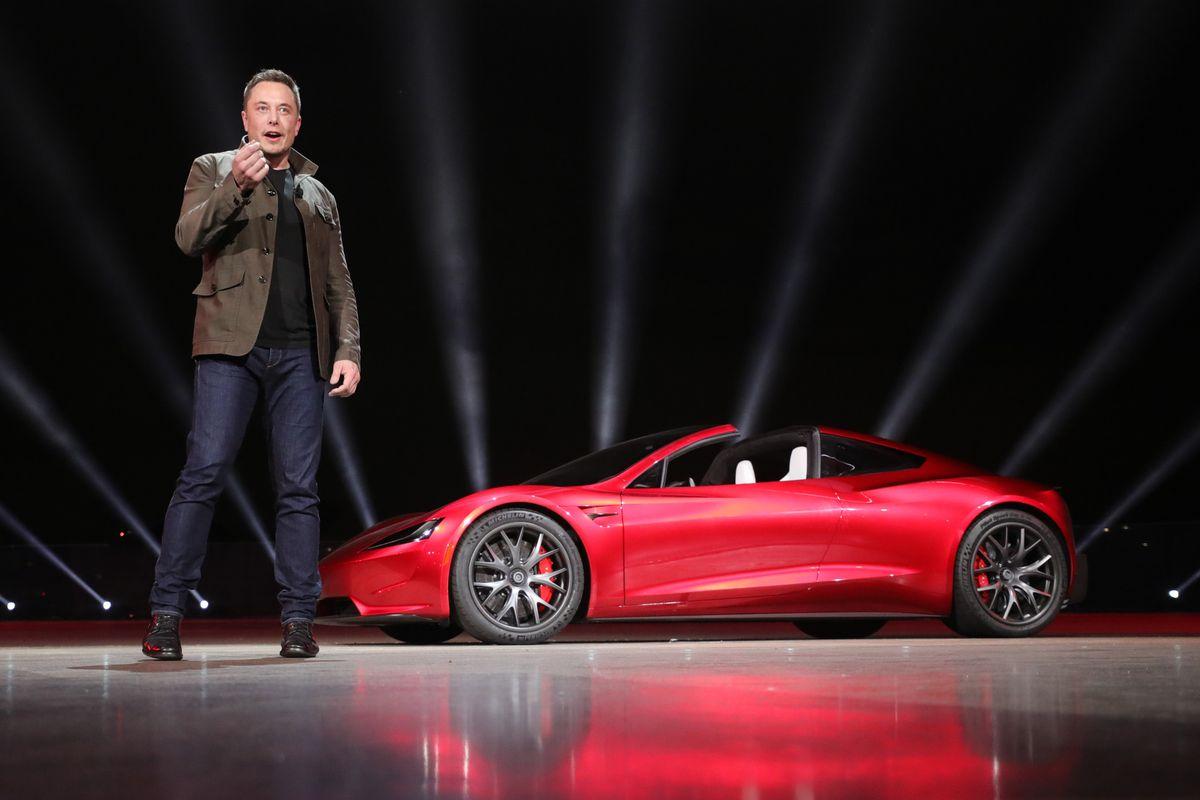 Tesla Roadster launch Elon Musk