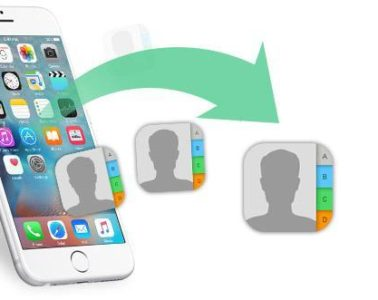 Transfer contacts to new iPhone