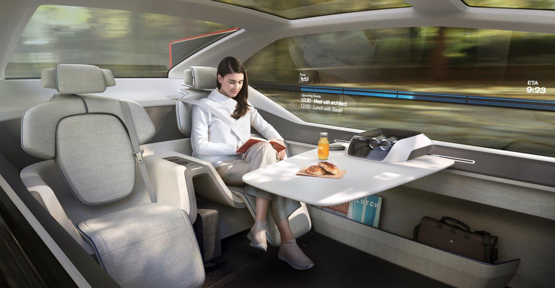 Volvo 360c cabin