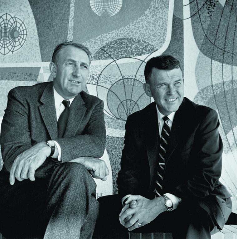 Bill Hewlett and David Packard