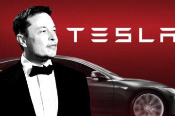 Tesla stock has risen
