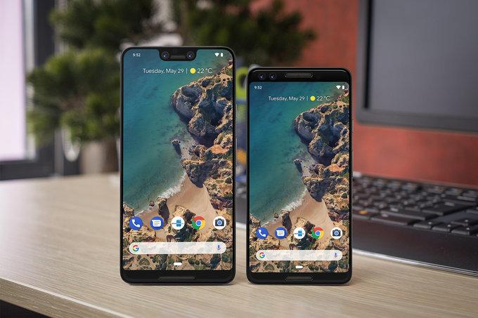 Google Pixel 2018 vs. Pixel 2019