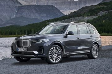 BMW X7 launch