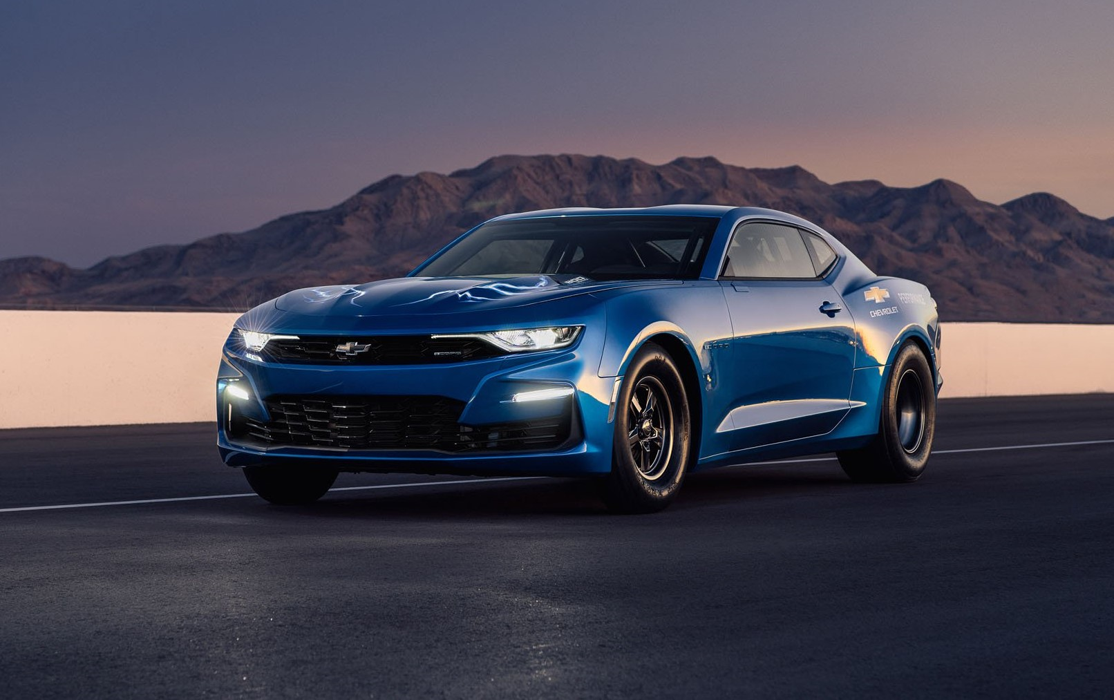 Chevrolet unveils electric-powered eCOPO Camaro race car concept at SEMA Show