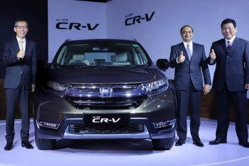 Honda CR-V India launch