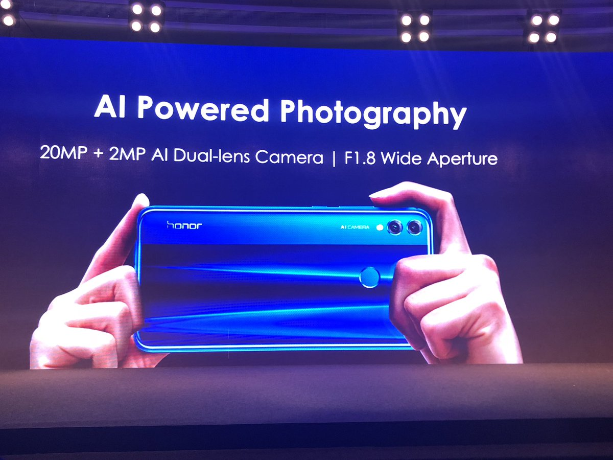 Honor 8X camera