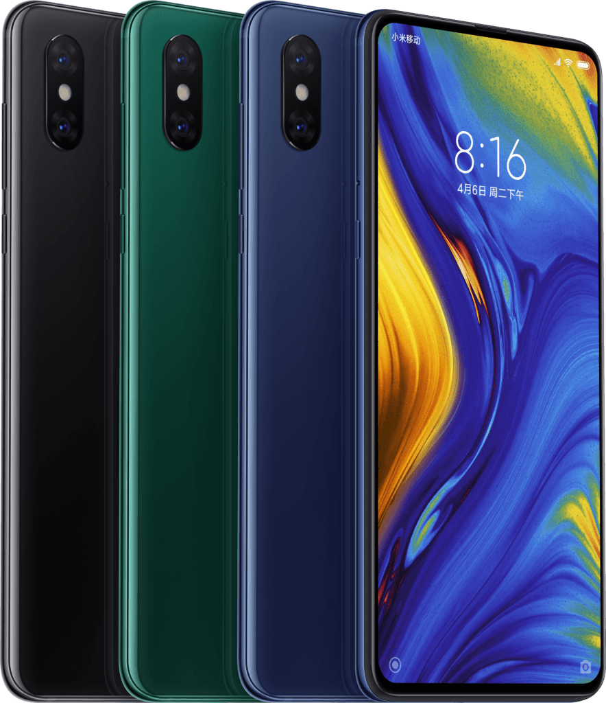 With MIX 3, Xiaomi takes aim at Apple iPhone X, Huawei P20