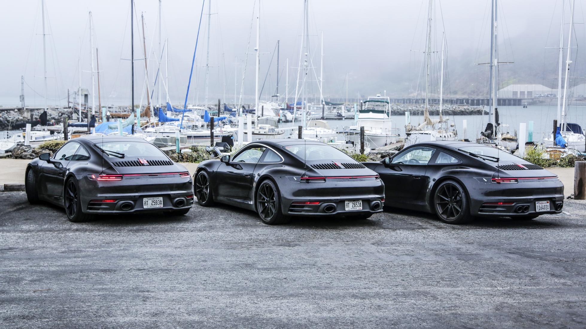 Porsche next-gent 911 hybrid