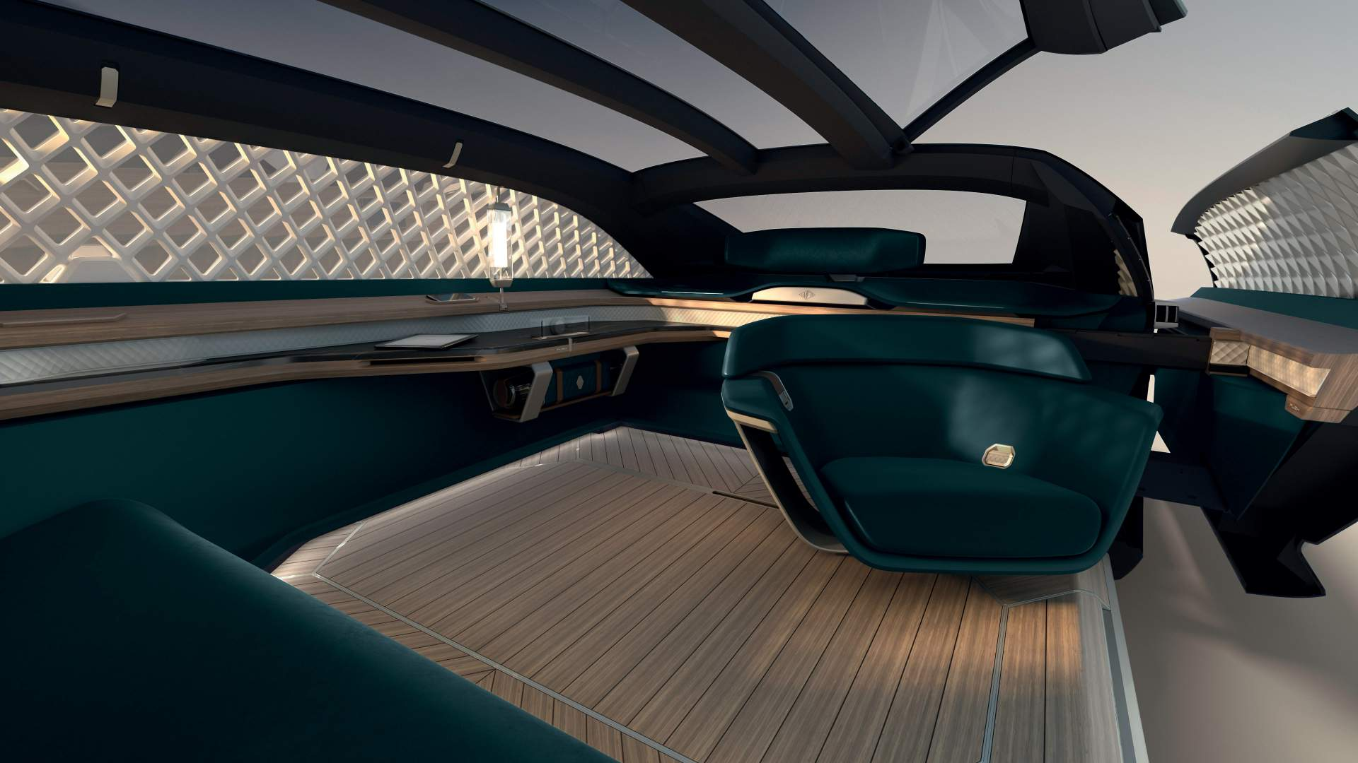 Renault EZ Ultimo concept lounge