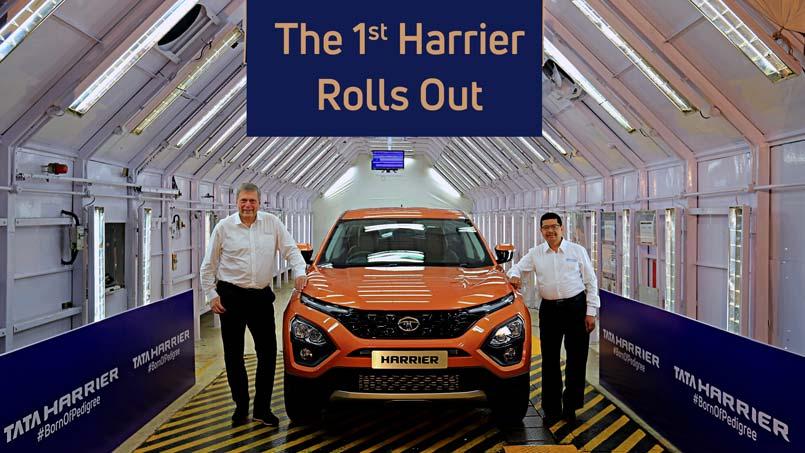 Tata Harrier factory