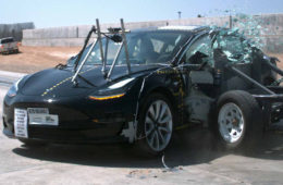 Tesla Model 3 crash test