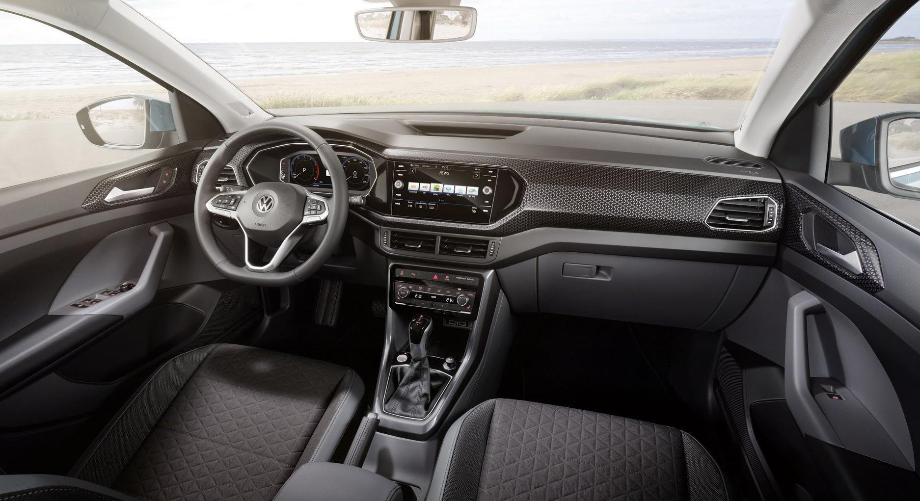 Volkswagen T-Cross cabin
