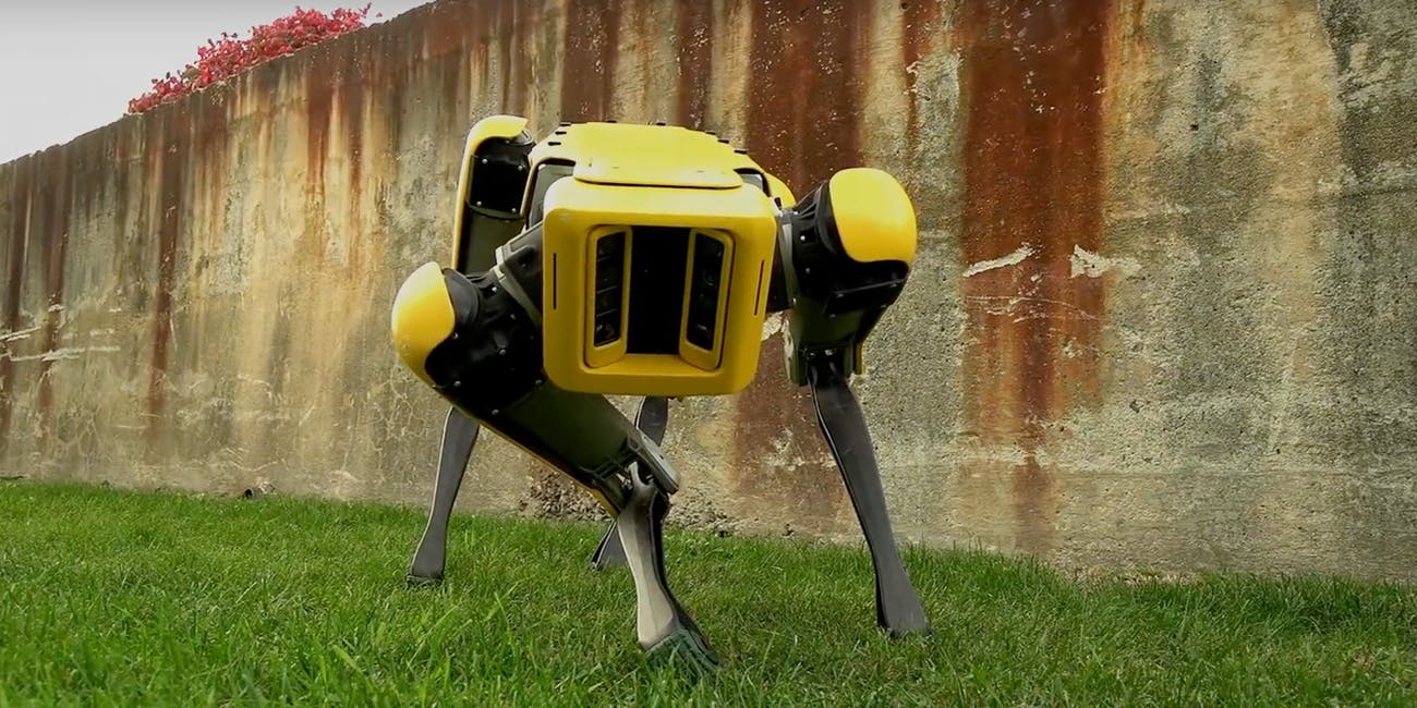 Watch Boston Dynamics SpotMini robot dance to Bruno Mars
