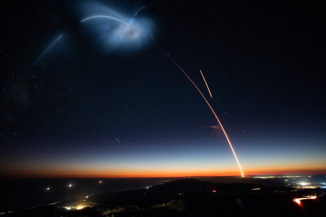Elon Musk Shares Incredible Photos From SpaceX's Landmark Falcon 9 Launch