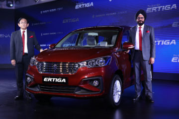 2018 Ertiga launch event