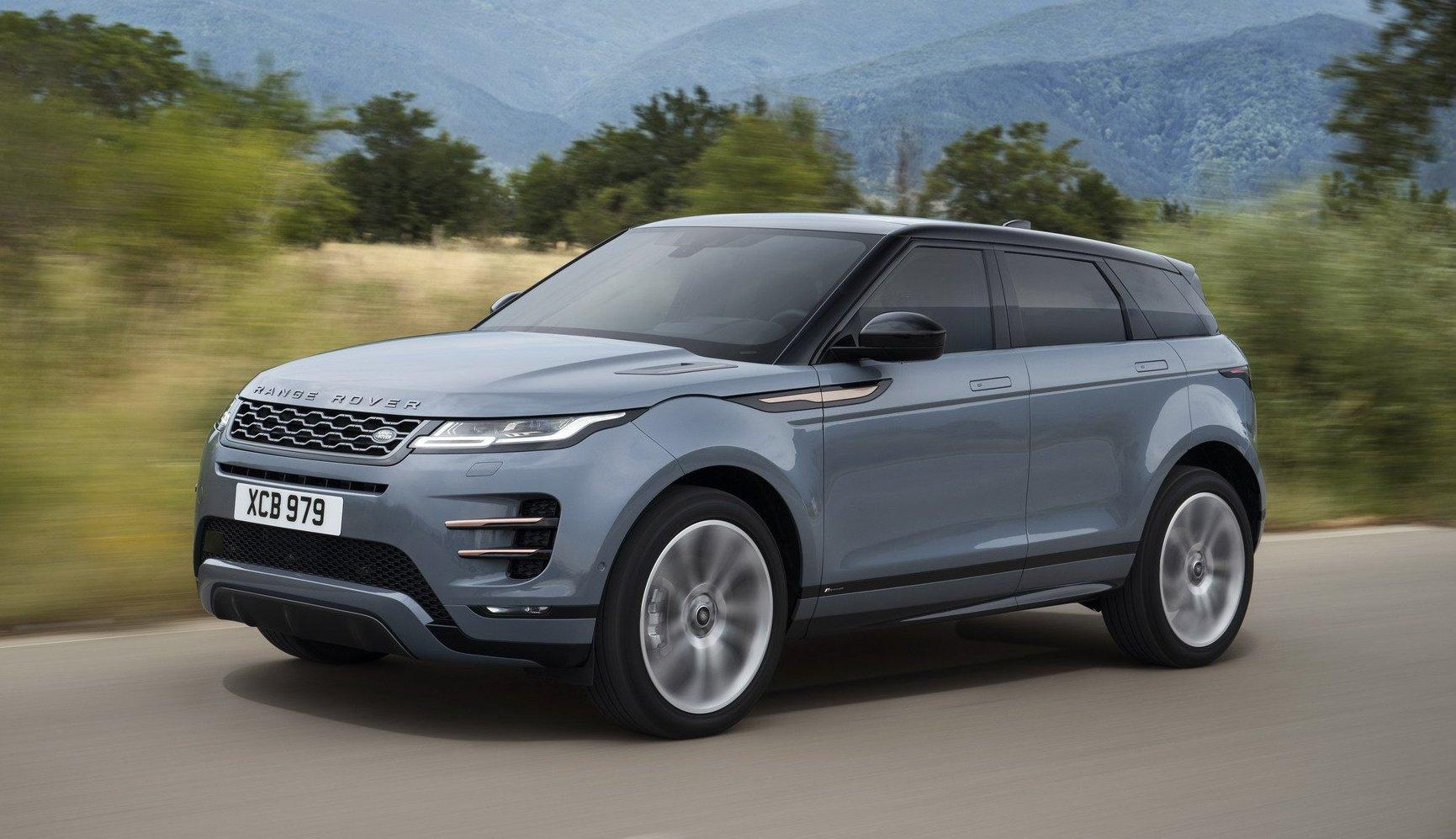2020 Range Rover Evoque Front look