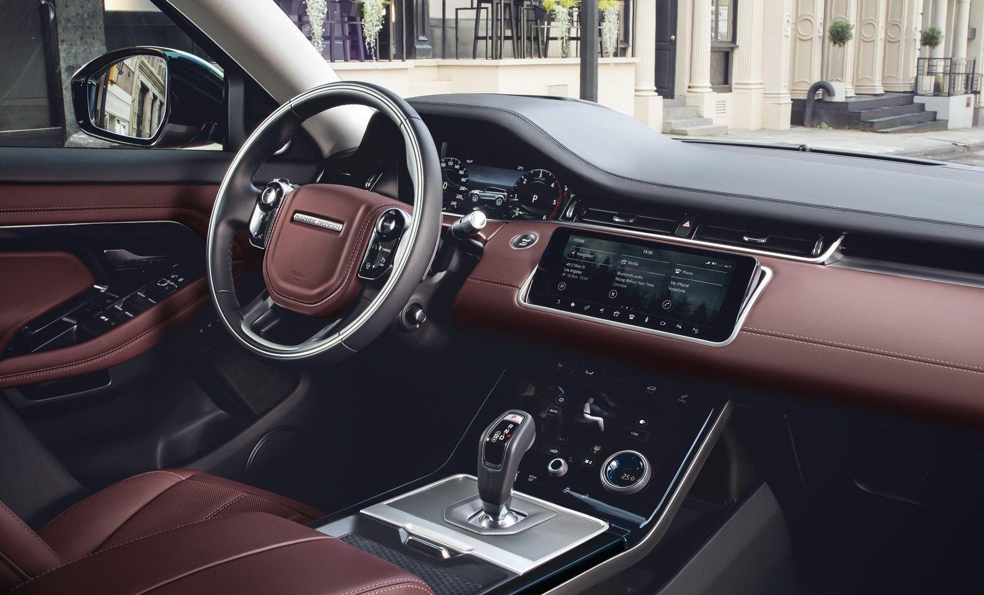 2020 Range Rover Evoque cabin