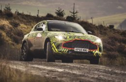 Aston Martin DBX SUV Prototype
