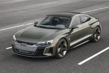 Audi e-tron GT range
