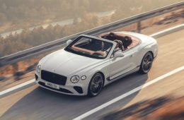 Bentley Continental GT Convertible launch
