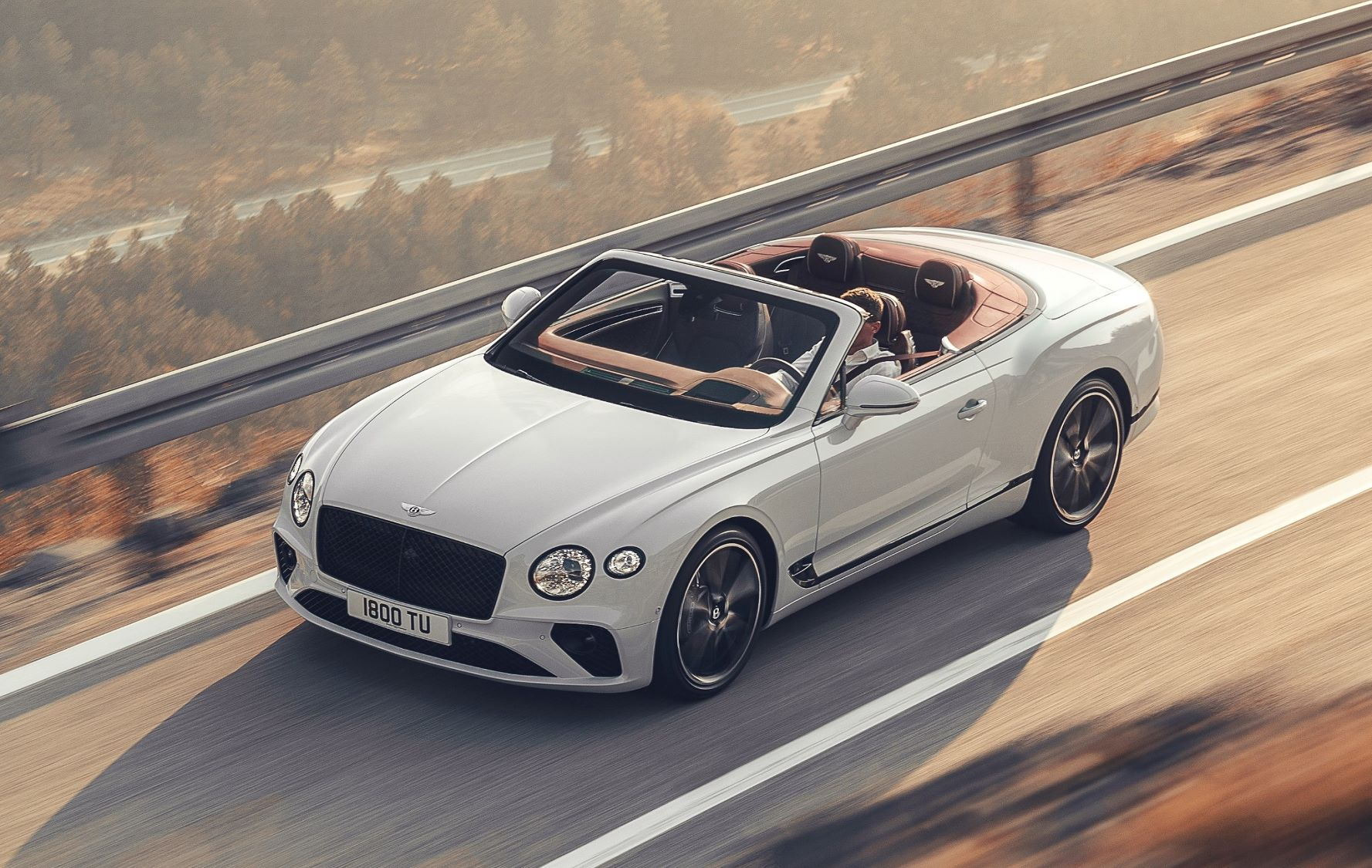 Bentley Continental GT Convertible launch