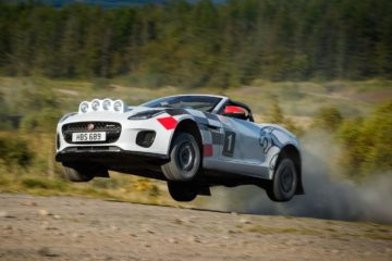 Jaguar F-Type Convertible Rally cars