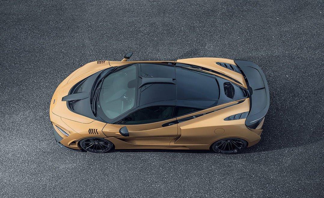 McLaren 720S N-Largo by novitec roof scoop