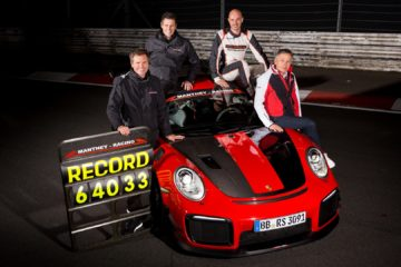 Porsche 911 GT2 RS MR record