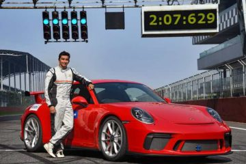 Porsche 911 GT3 Buddh International circuit record