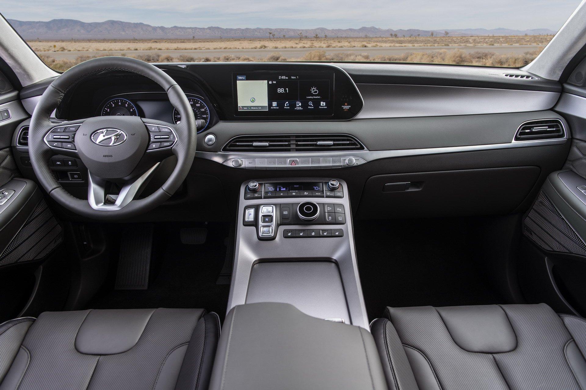 2020 Hyundai palisade cabin dashboard