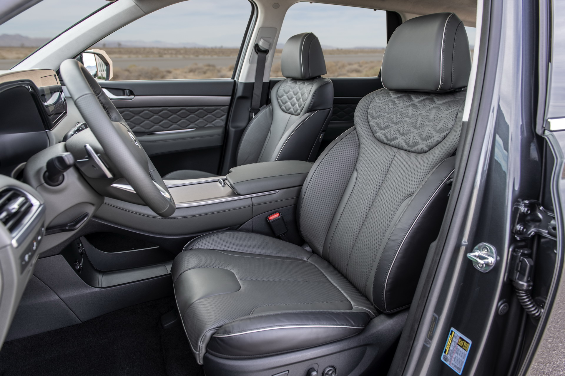 2020 Hyundai palisade leather seats