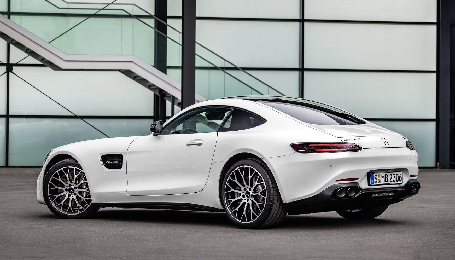 2020 Mercedes AMG GT launch