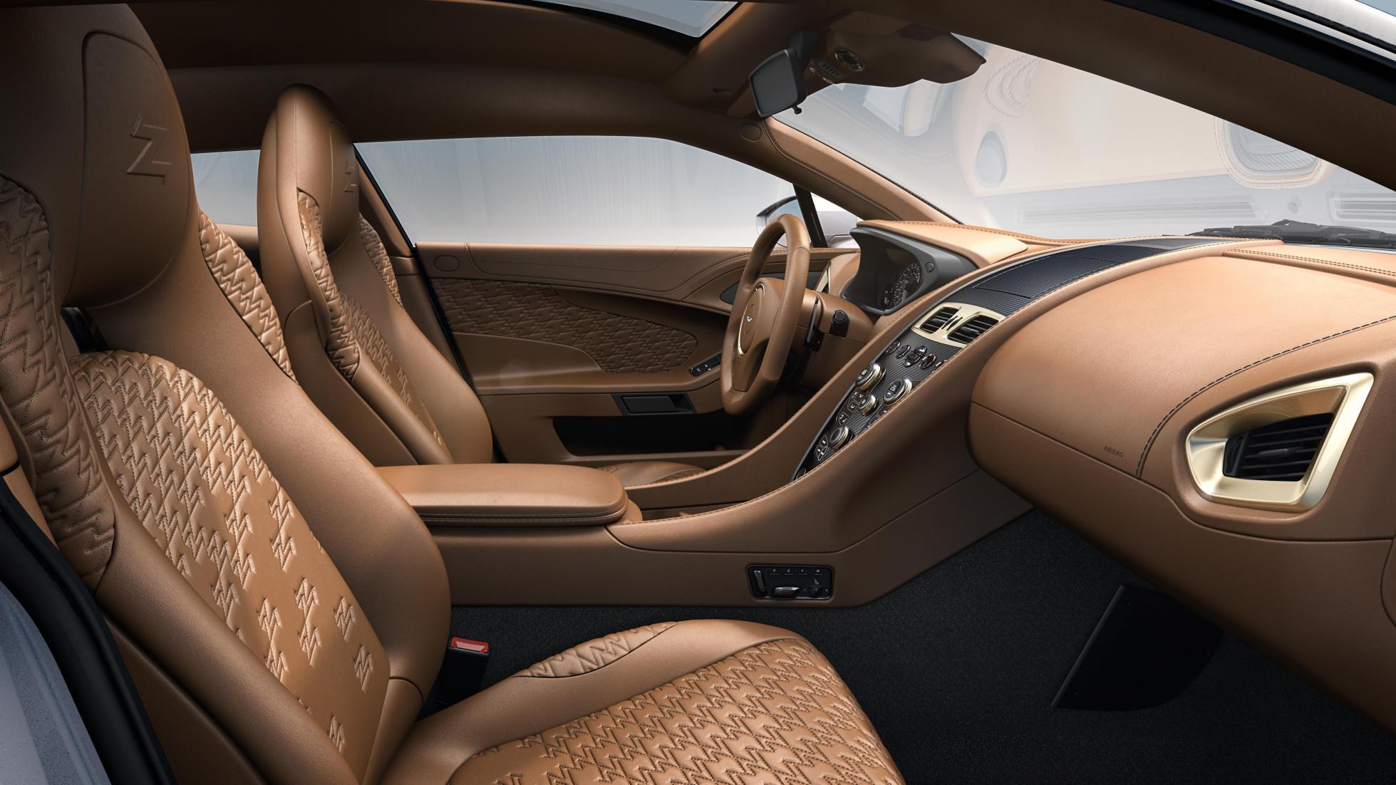 Aston martin Vanquish Zagato Shooting Brake cabin