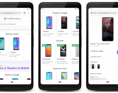 Google Shopping - Home page