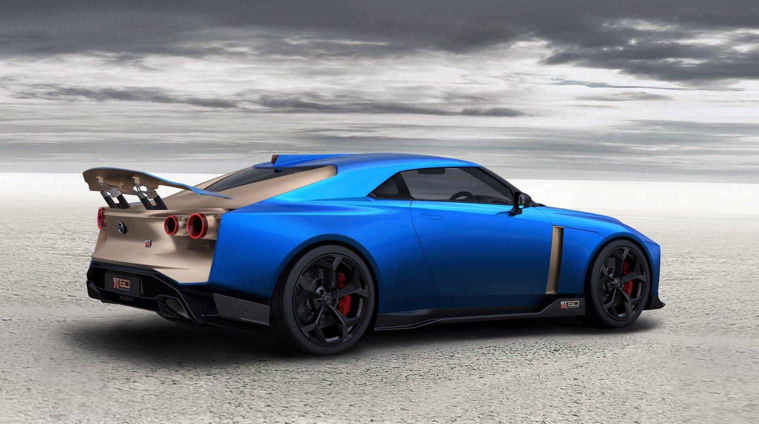 Italdesign Nissan GT-R50 taillight