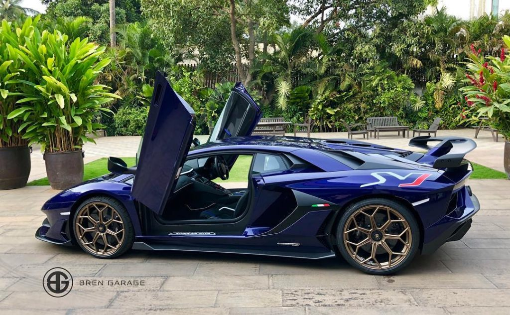 India S First Lamborghini Aventador Svj Delivered In Bengaluru