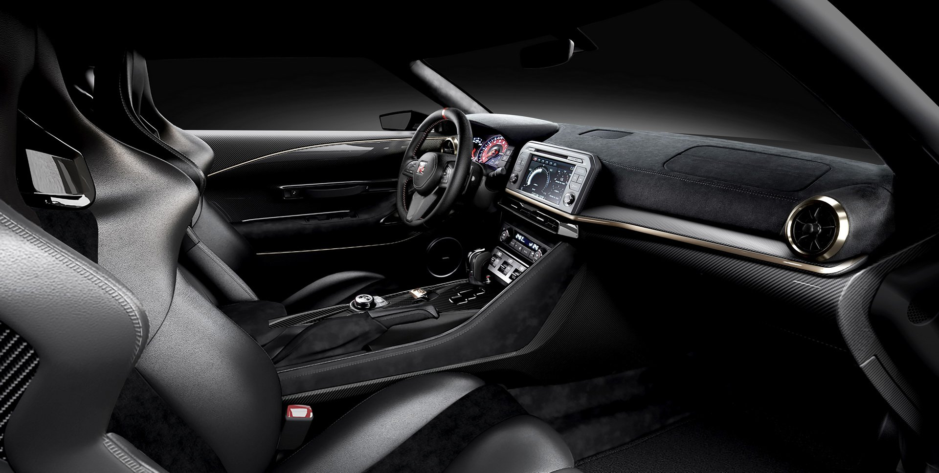 Nissan GT-R50 Italdesign interior