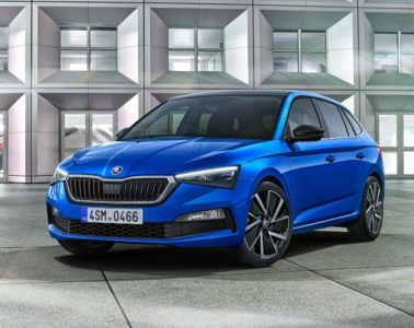Skoda Scala hatchback revealed