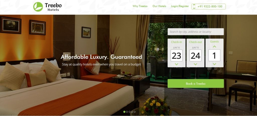 OYO is in Talks to acquire Treebo Hotels